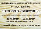 Výstava Dláto J. Ostrovského