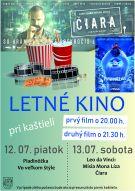 Letné kino v Chtelnici